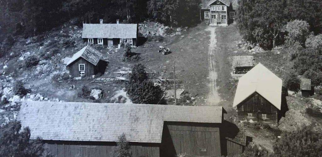 Gården, foto från 1950-talet